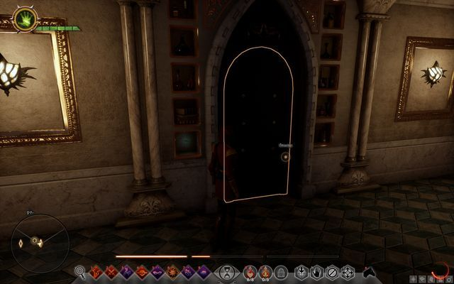 The entrance to the West storage - Wicked Eyes and Wicked Hearts - Main storyline quests (The Path of the Inquisitor) - Dragon Age: Inquisition Game Guide & Walkthrough