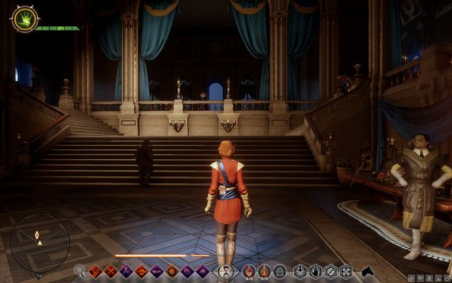 The presentation at the Grand Ballroom - Wicked Eyes and Wicked Hearts - Main storyline quests (The Path of the Inquisitor) - Dragon Age: Inquisition Game Guide & Walkthrough