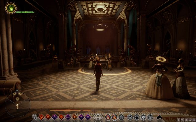 The vestibule - Wicked Eyes and Wicked Hearts - Main storyline quests (The Path of the Inquisitor) - Dragon Age: Inquisition Game Guide & Walkthrough