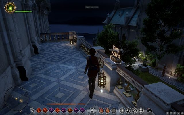 Halla Statue above the Guest Garden - Wicked Eyes and Wicked Hearts - Main storyline quests (The Path of the Inquisitor) - Dragon Age: Inquisition Game Guide & Walkthrough