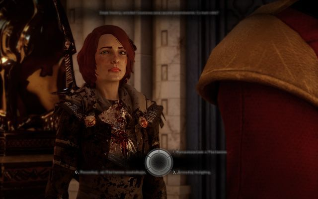 The final decision dial - Wicked Eyes and Wicked Hearts - Main storyline quests (The Path of the Inquisitor) - Dragon Age: Inquisition Game Guide & Walkthrough