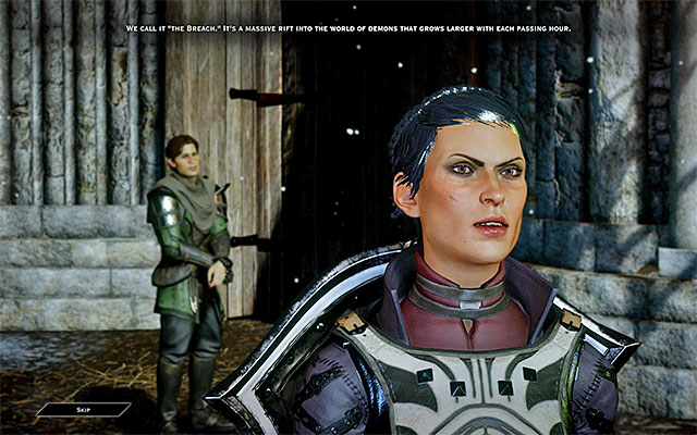 Cassandra is following the party from the very beginning of the game - Warriors on the battlefield in Dragon Age Inquisition - Combat - Dragon Age: Inquisition Game Guide & Walkthrough