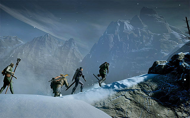 You explore Frostbacks during the games prologue - Preliminary information | Frostback Mountains - Frostback Mountains - Dragon Age: Inquisition Game Guide & Walkthrough