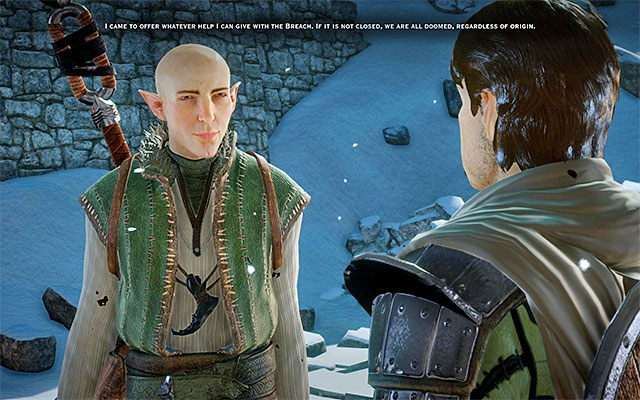 Solas is the first mage that you meet in the game - Mages on the battlefield in Dragon Age Inquisition - Combat - Dragon Age: Inquisition Game Guide & Walkthrough
