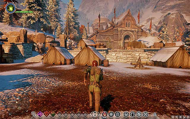 Haven is the initial field base for the Inquisition - Preliminary information about Haven - Haven - Dragon Age: Inquisition Game Guide & Walkthrough