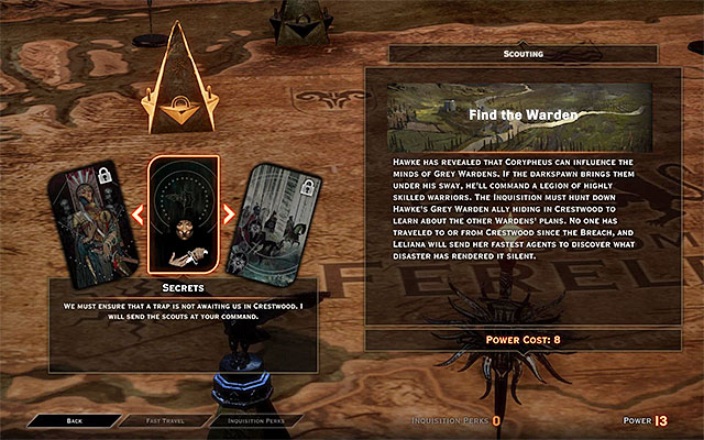 An example missions connected with unlocking an new map area - Unlocking new areas - Exploration of the game world - Dragon Age: Inquisition Game Guide & Walkthrough