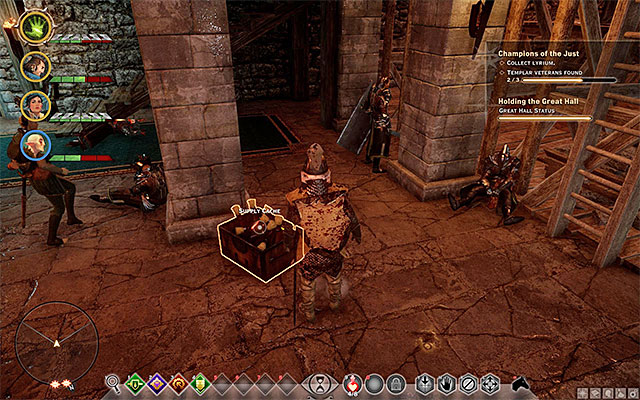 An example supplies crate - Exploration of the surroundings - Exploration of the game world - Dragon Age: Inquisition Game Guide & Walkthrough