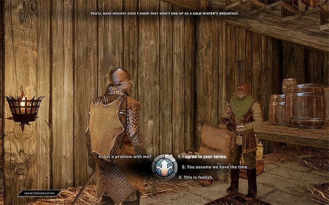 In each location, there are many NPCs that are willing to task you with a quest - Exploration of the surroundings - Exploration of the game world - Dragon Age: Inquisition Game Guide & Walkthrough
