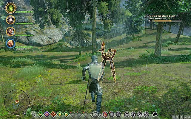You need to set up a camp to be able to use it - Important locations on the map in Dragon Age Inquisition - Exploration of the game world - Dragon Age: Inquisition Game Guide & Walkthrough