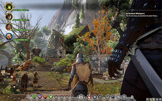 In villages, you can meet many NPCs - Important locations on the map in Dragon Age Inquisition - Exploration of the game world - Dragon Age: Inquisition Game Guide & Walkthrough