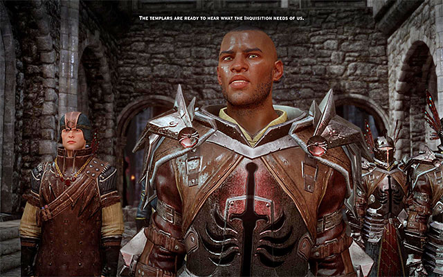 To allow the Templars to retain their autonomy is only one of the possible actions - New allies in Dragon Age Inquisition - Crafting - Dragon Age: Inquisition Game Guide & Walkthrough