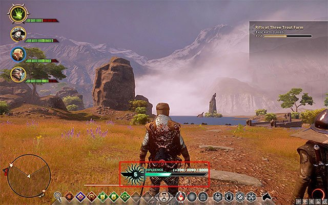 Power and Influence are two very important factors connected with the actions of the Inquisition - Power points and Influence points - Inquisition - Dragon Age: Inquisition Game Guide & Walkthrough