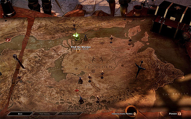 You need power to unlock new, important quests on the war map - Power points and Influence points - Inquisition - Dragon Age: Inquisition Game Guide & Walkthrough
