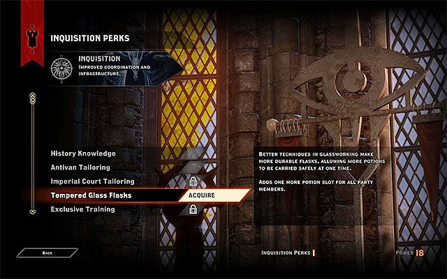 Thanks to expanding your influence, you can unlock new Inquisition perks - Power points and Influence points - Inquisition - Dragon Age: Inquisition Game Guide & Walkthrough