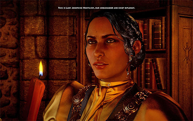 Josephine - The protagonists advisors - Inquisition - Dragon Age: Inquisition Game Guide & Walkthrough