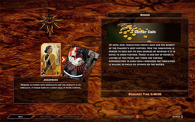 An example mission - The War Room in Dragon Age Inquisition - Crafting - Dragon Age: Inquisition Game Guide & Walkthrough