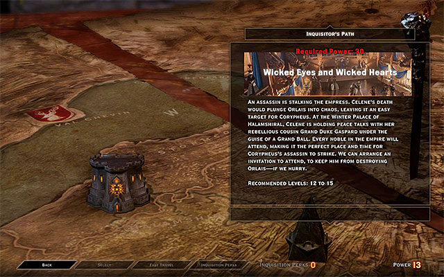 As much as your advisors can take on the simplest missions immediately, there is an additional restrictions on the more complex ones (this is especially true for the ones connected with the storyline and with discovering new locations) - The War Room in Dragon Age Inquisition - Crafting - Dragon Age: Inquisition Game Guide & Walkthrough