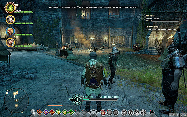 It is a good idea to seize the strongholds that you discover - How to gain experience fast in Dragon Age Inquisition? - Questions and answers - Dragon Age: Inquisition Game Guide & Walkthrough
