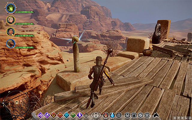 The Oasis is a multi-storey location, which makes it difficult to explore it - Preliminary information | The Forbidden Oasis - The Forbidden Oasis - Dragon Age: Inquisition Game Guide & Walkthrough