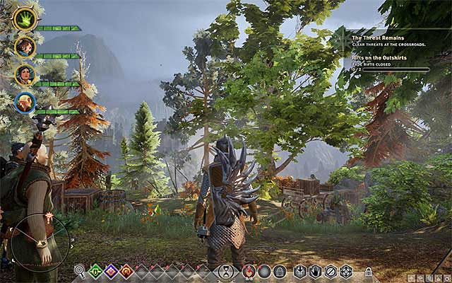 Explore as much of the Hinterlands as your current experience level allows you to - What is the best order to explore locations at the beginning of the game? - Questions and answers - Dragon Age: Inquisition Game Guide & Walkthrough