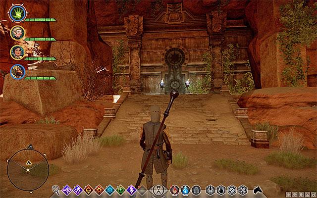Hidden Areas The Forbidden Oasis Dragon Age