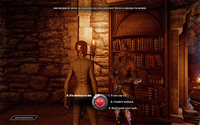 Dorian - Romance with Dorian - Romances - Dragon Age: Inquisition Game Guide & Walkthrough
