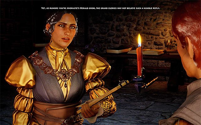 Josephine - Romance with Josephine - Romances - Dragon Age: Inquisition Game Guide & Walkthrough