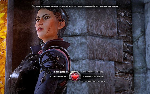 Cassandra - Romance with Cassandra in Dragon Age Inquisition - Romances - Dragon Age: Inquisition Game Guide & Walkthrough
