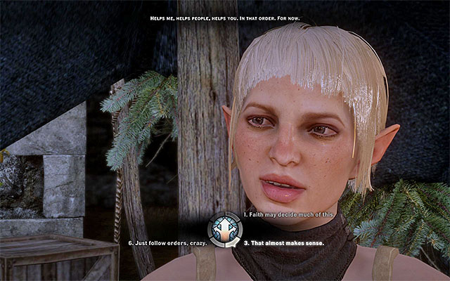 Sera - Romance with Sera - Romances - Dragon Age: Inquisition Game Guide & Walkthrough