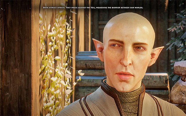 Romance with Solas in Dragon Age Inquisition - Dragon Age