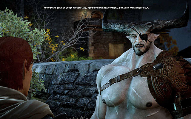 The Iron Bull - Romance with Iron Bull - Romances - Dragon Age: Inquisition Game Guide & Walkthrough