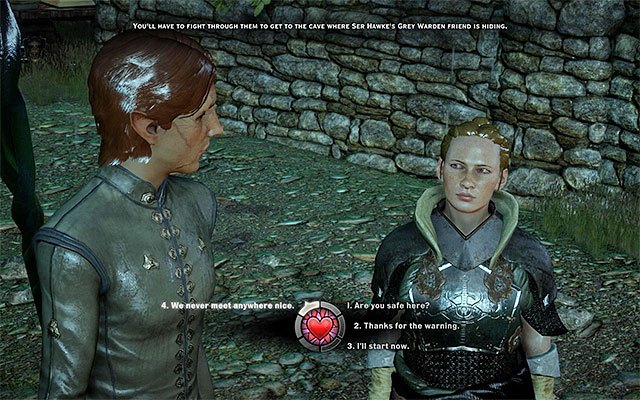 Harding - Minor romances and other scenes - Romances - Dragon Age: Inquisition Game Guide & Walkthrough