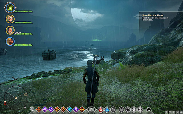 One of the attractions of Crestwood is be big rift on the lake - Preliminary information | Crestwood - Crestwood - Dragon Age: Inquisition Game Guide & Walkthrough