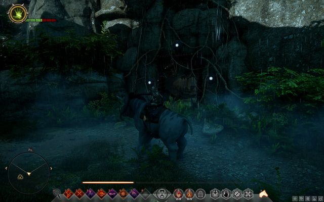 The cave entrance - Astrariums and ocularums | Crestwood - Crestwood - Dragon Age: Inquisition Game Guide & Walkthrough