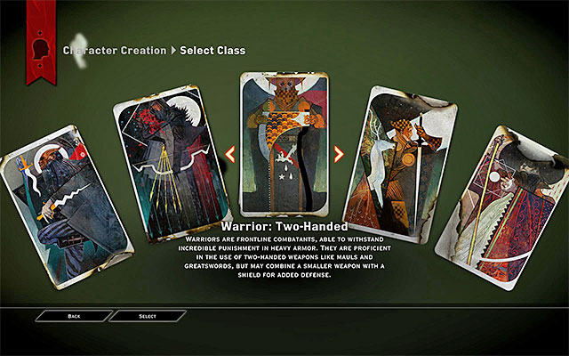 Game Design Character Classes : Character classes dragon age inquisition game guide
