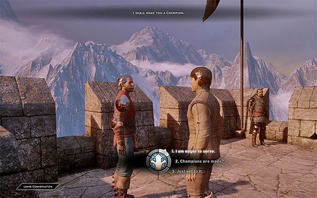 You need to perform all the activities tasked to you by the trainer - Specializations - Character development - Dragon Age: Inquisition Game Guide & Walkthrough