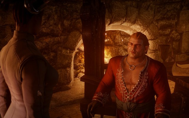 Varric Dragon Age Inquisition Card Dragon Age Inquisition
