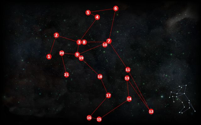 The second astrarium is near the rocks, in the Western corner of the map (M17,1b) - Astrariums and ocularums | Emerald Graves - Emerald Graves - Dragon Age: Inquisition Game Guide & Walkthrough