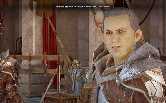 In spite of Luciuss brusque mannerism you should not give up the potential alliance with the Templars - Champions of the Just (siding with templars) - Main storyline quests (The Path of the Inquisitor) - Dragon Age: Inquisition Game Guide & Walkthrough