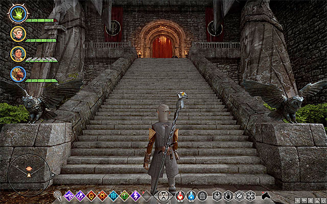 Climb up the stairs to meet with Lucius - Champions of the Just (siding with templars) - Main storyline quests (The Path of the Inquisitor) - Dragon Age: Inquisition Game Guide & Walkthrough