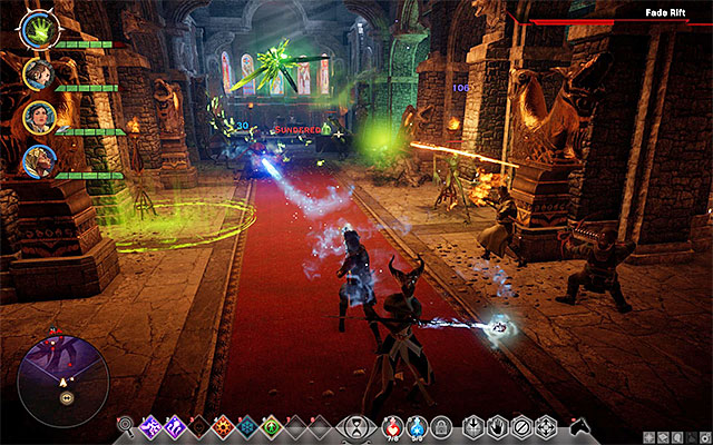 Defeat the monsters at the chapel and talk to your allies - In Hushed Whispers (siding with mages) - Main storyline quests (The Path of the Inquisitor) - Dragon Age: Inquisition Game Guide & Walkthrough