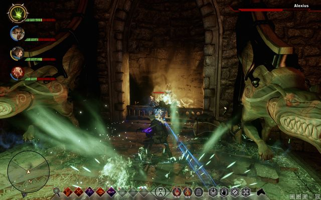 Alexius likes hiding in corners and setting traps around him - In Hushed Whispers (siding with mages) - Main storyline quests (The Path of the Inquisitor) - Dragon Age: Inquisition Game Guide & Walkthrough