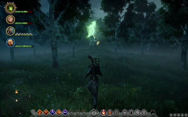 The second Rift inside the stone circle - Rifts in The Fallow Mire - Side quests - The Fallow Mire - Dragon Age: Inquisition Game Guide & Walkthrough