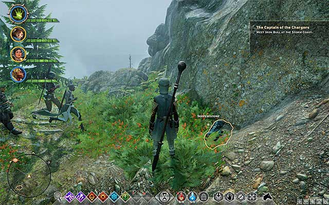 An example Serpentstone - Iron Survey on the Coast - Side quests - The Storm Coast - Dragon Age: Inquisition Game Guide & Walkthrough