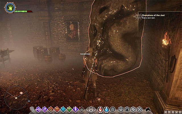 The first inscription - Demonic Dogma - Side quests - Therinfal Redoubt - Dragon Age: Inquisition Game Guide & Walkthrough