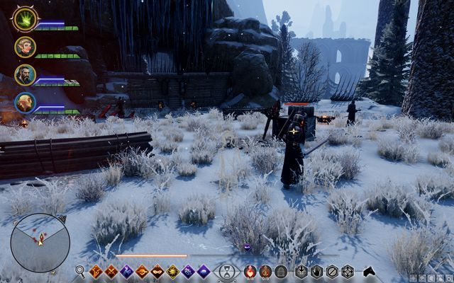 Location taken over by the templars - Take Back the Lion - Side quests - Emprise du Lion - Dragon Age: Inquisition Game Guide & Walkthrough