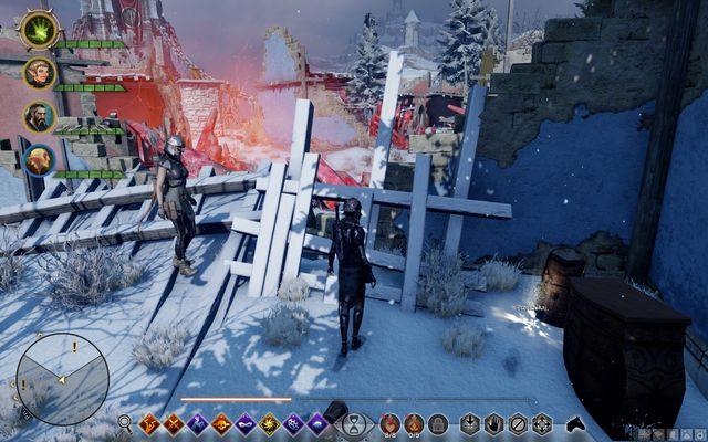 Ring by the furnace - Mamass Ring - Side quests - Emprise du Lion - Dragon Age: Inquisition Game Guide & Walkthrough