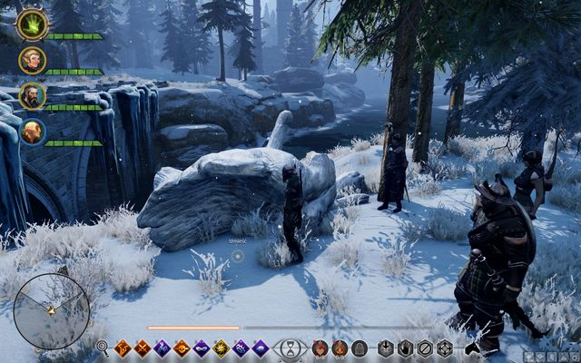 The tree - Words Not Hollow - Side quests - Emprise du Lion - Dragon Age: Inquisition Game Guide & Walkthrough