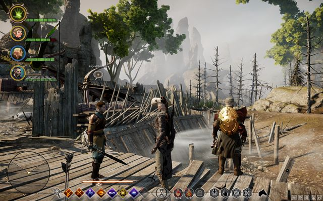 Corporal Rosselin on the west ramparts - Undead Ramparts to the West - Side quests - Exalted Plains - Dragon Age: Inquisition Game Guide & Walkthrough