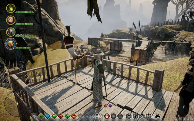 The signal horn of the eastern fortification - Lay Rest the Eastern Ramparts - Side quests - Exalted Plains - Dragon Age: Inquisition Game Guide & Walkthrough